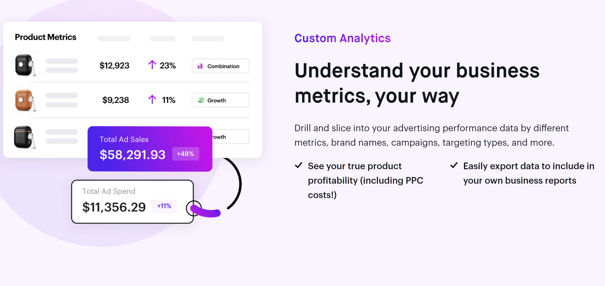 Teikametrics optimization keywords analysis
