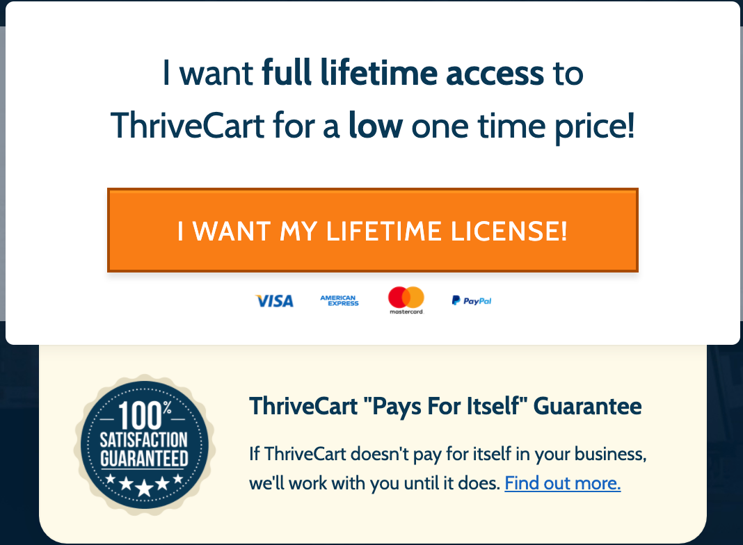 ThriveCart Lifetime Discount