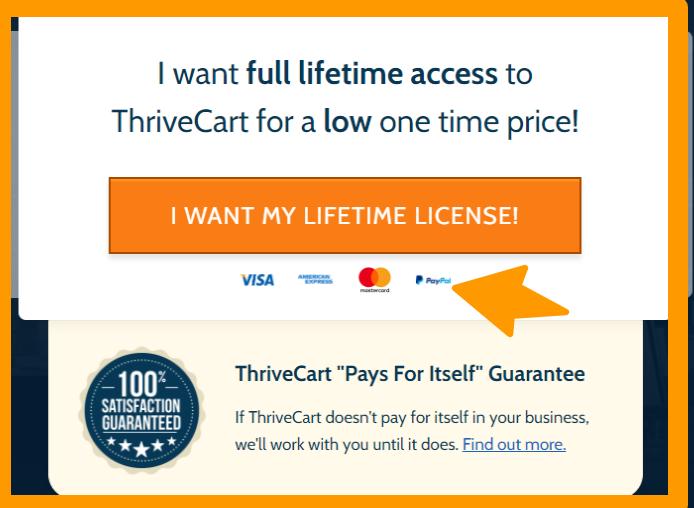 ThriveCart- Payment Mode