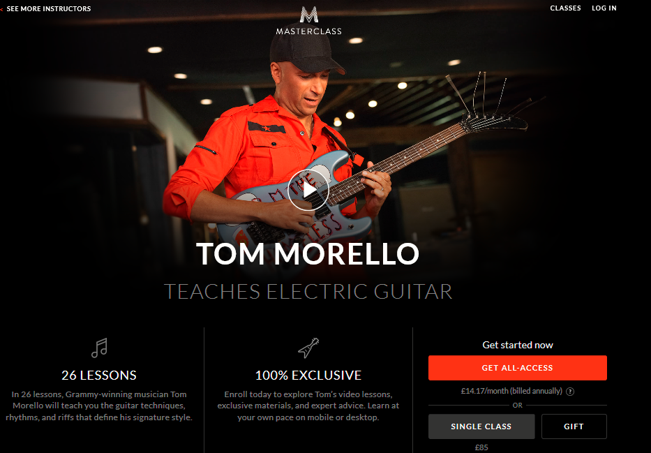 Tom Morello Pricing Plans