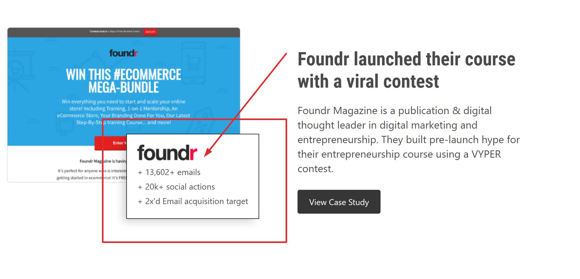 Vyper giveaway social media tool