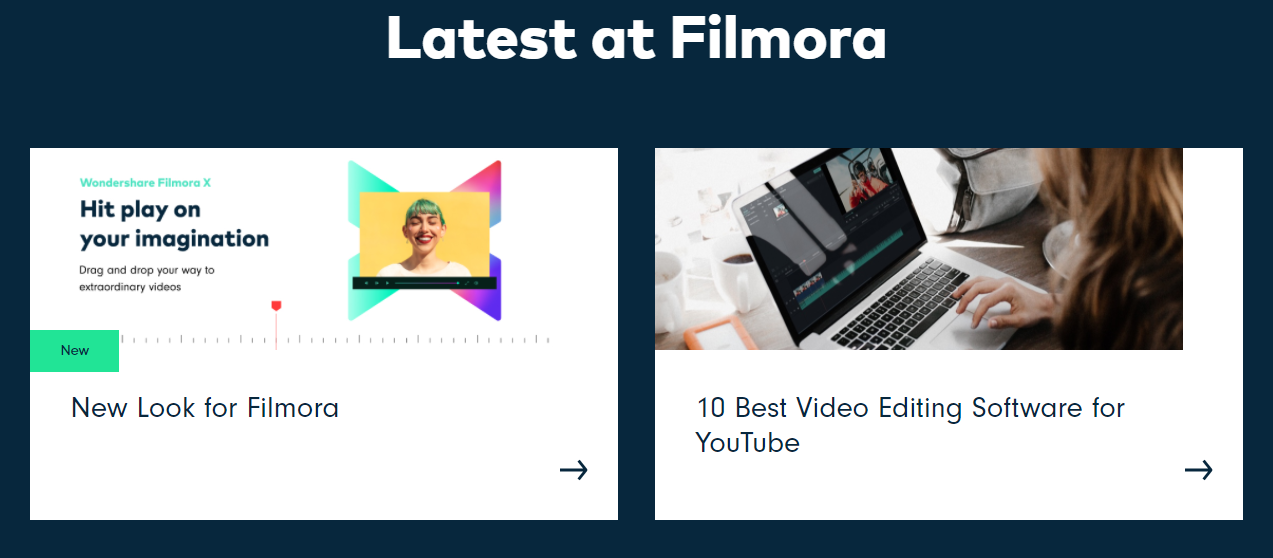Wondershare Filmora- Latest at Filmora