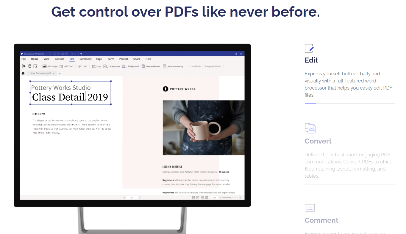 Wondershare PDFelement-Control Your Documents
