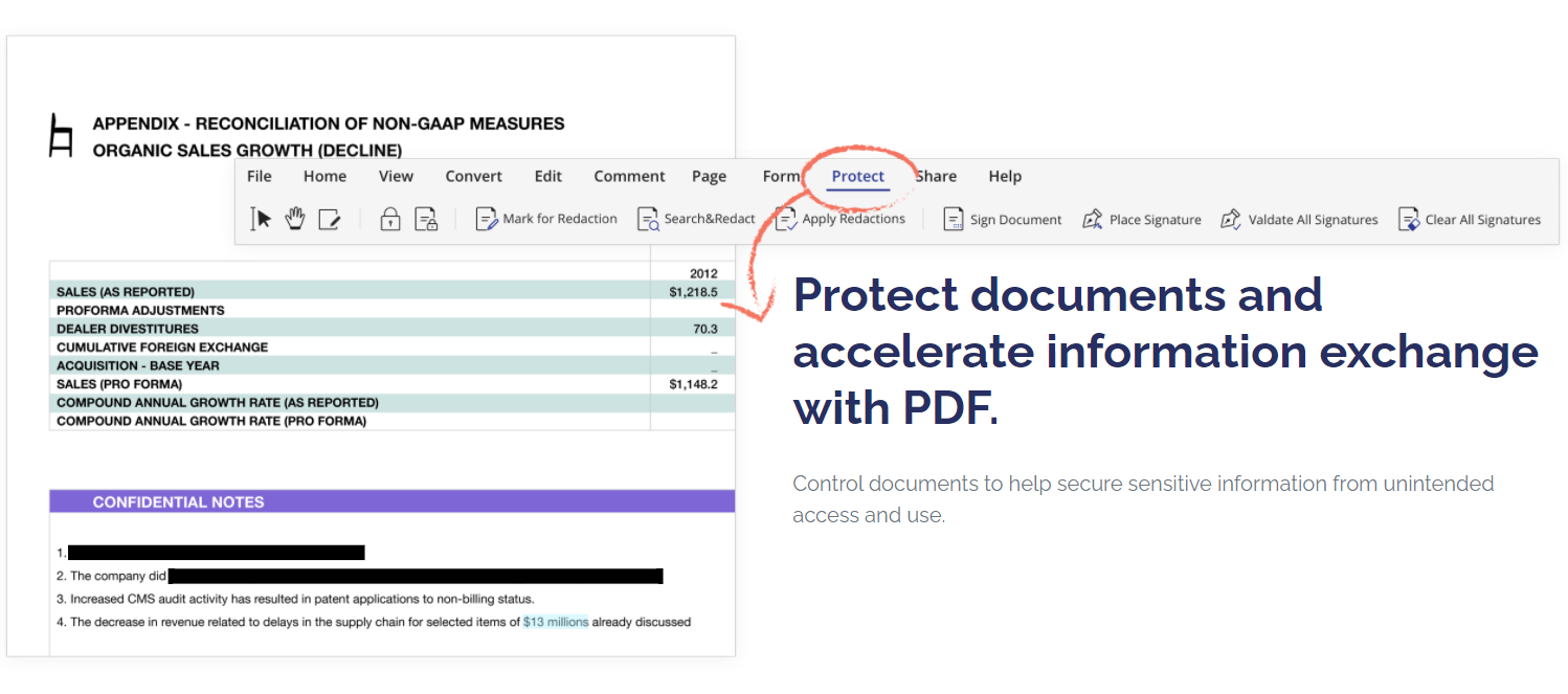 Wondershare PDFelement- Document Protection