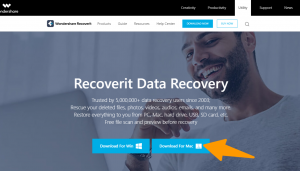 Wondershare Recoverit -