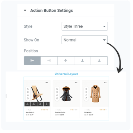 WooLentor- Page Builder Auction Button Setting