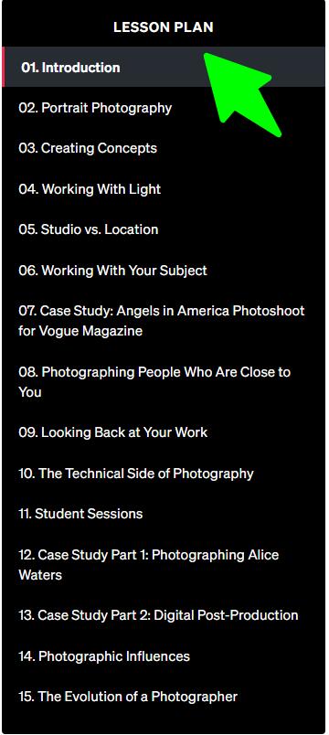 Annie-Leibovitz-Teaches-Photography - Lesson Plan