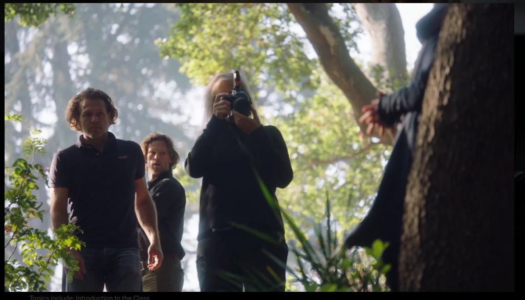 Annie-Leibovitz-Teaches-Photography-MasterClass -Shooting
