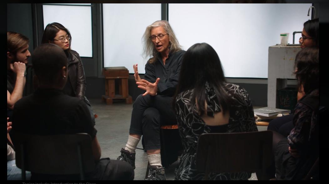 Annie-Leibovitz-Teaches-Photography-MasterClass -Student Session