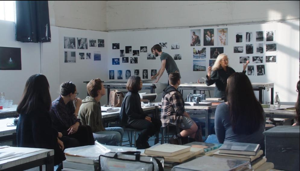Annie-Leibovitz-Teaches-Photography-MasterClass -Studio