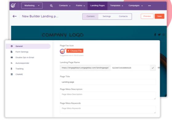 CRM-Software-EngageBay - Landing Page