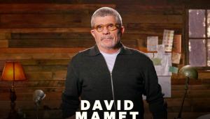David-Mamet-Teaches-Dramatic-Writing