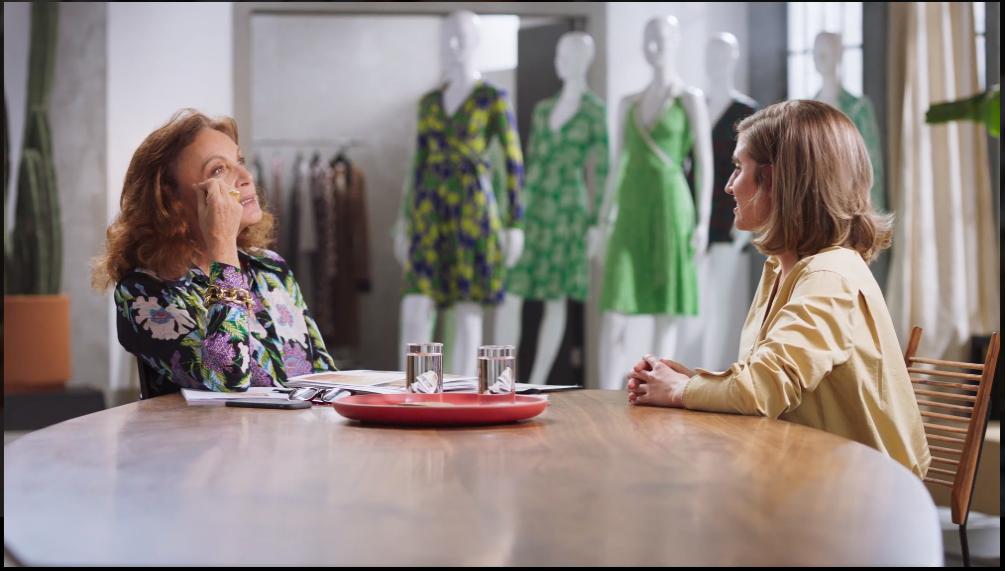 Diane-von-Furstenberg-Teaches -Fashion Masterclass - Customer