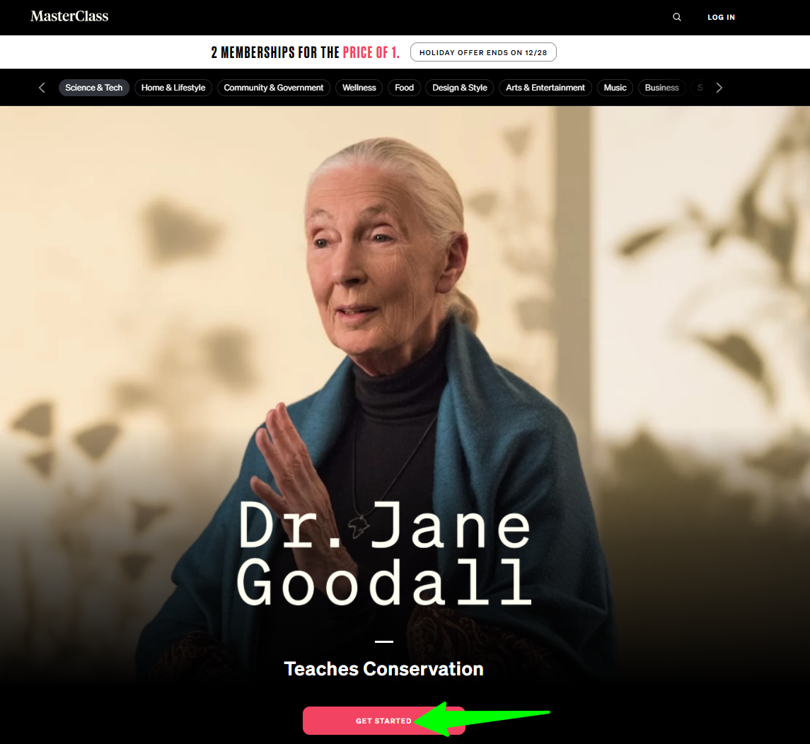 Dr-Jane-Goodall-Teaches-Conservation-MasterClass