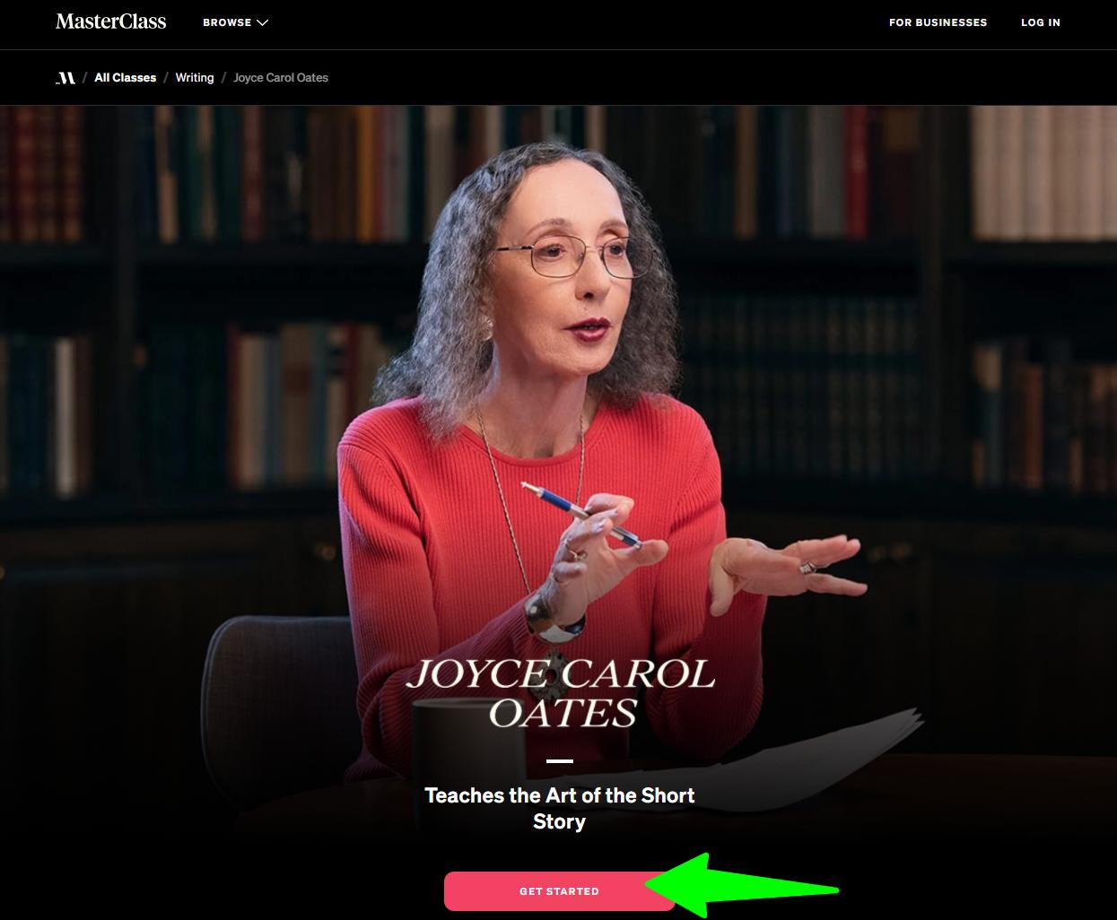 MasterClass-Joyce-Carol-Oates-Teach