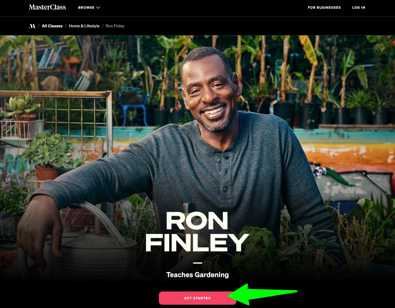MasterClass-Ron-Finley-Teaches-Gardening - Overview