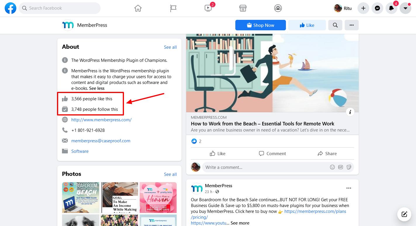 MemberPress-Facebook