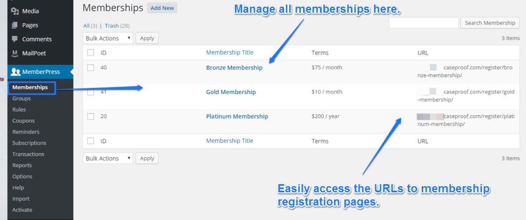 MemberPress Membership