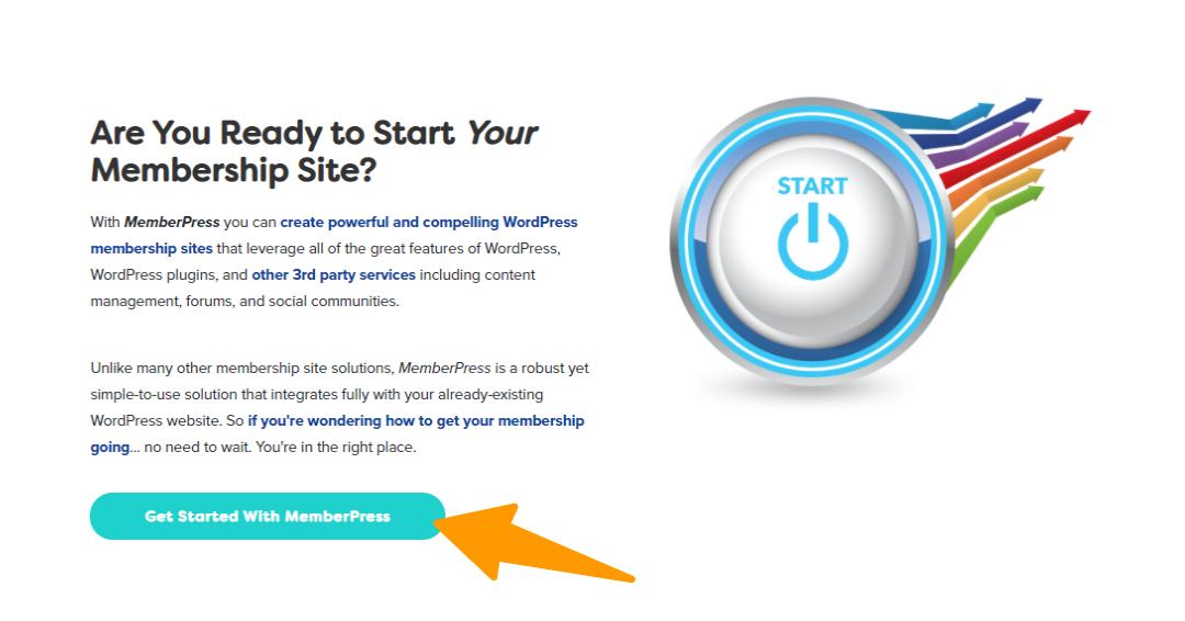 MemberPress - Start Your Site