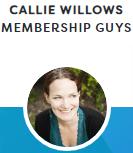 MemberPress testimonial - Callie willows