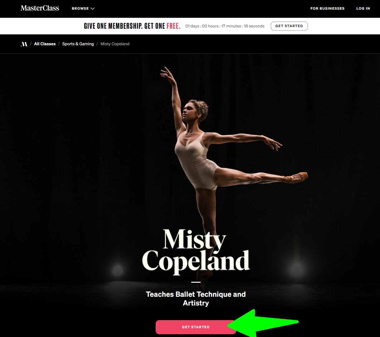 Misty-Copeland- MasterClasss
