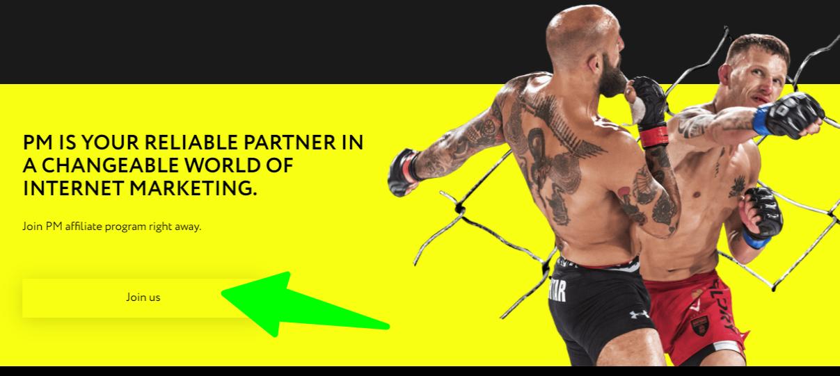 PMAffiliates -Reliable Partner