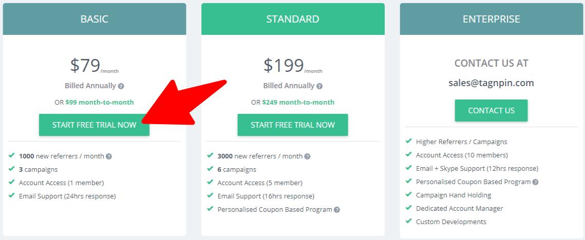 Pricing - InviteReferrals