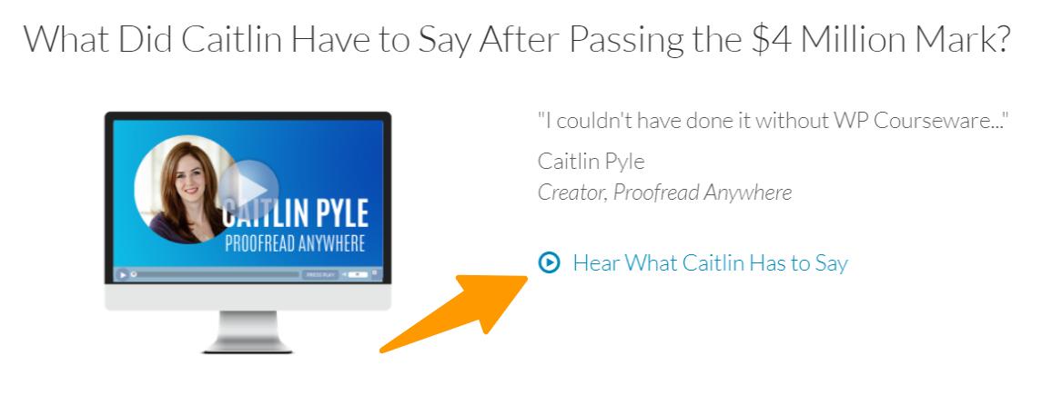 WP-Courseware - Caitlin Pyle