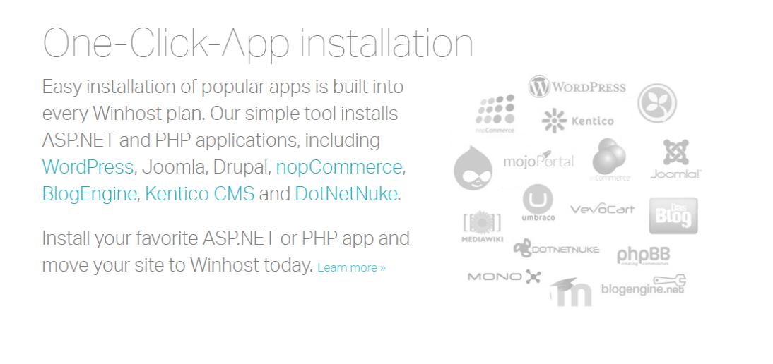 WinHost -App Installation