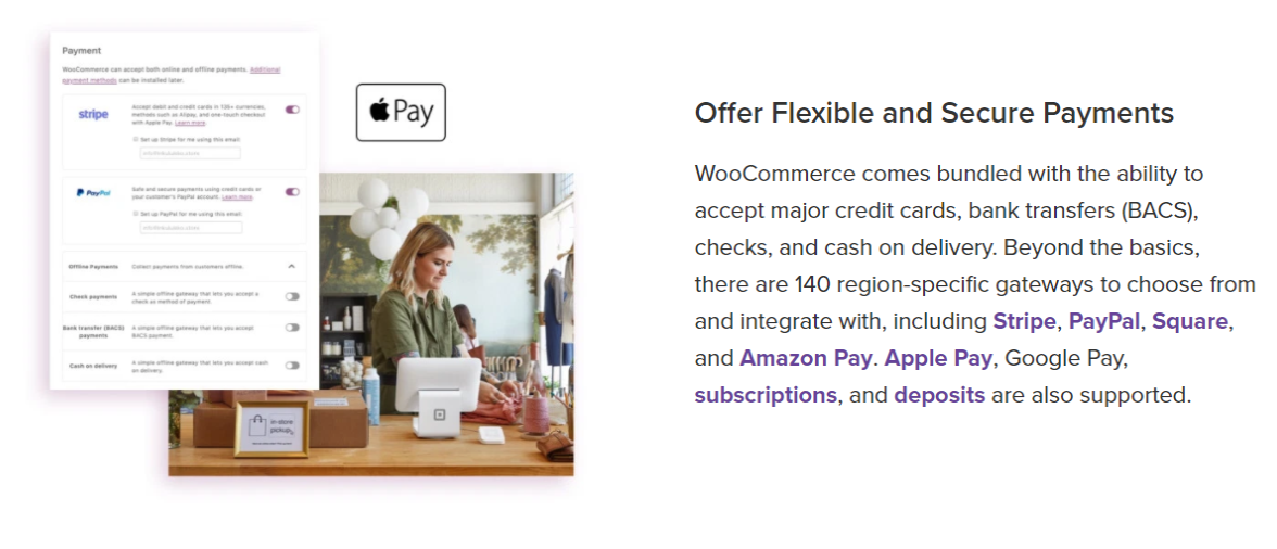 WooCommerce- Payment Mode