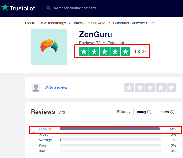ZonGuru-Reviews-Trustpilot