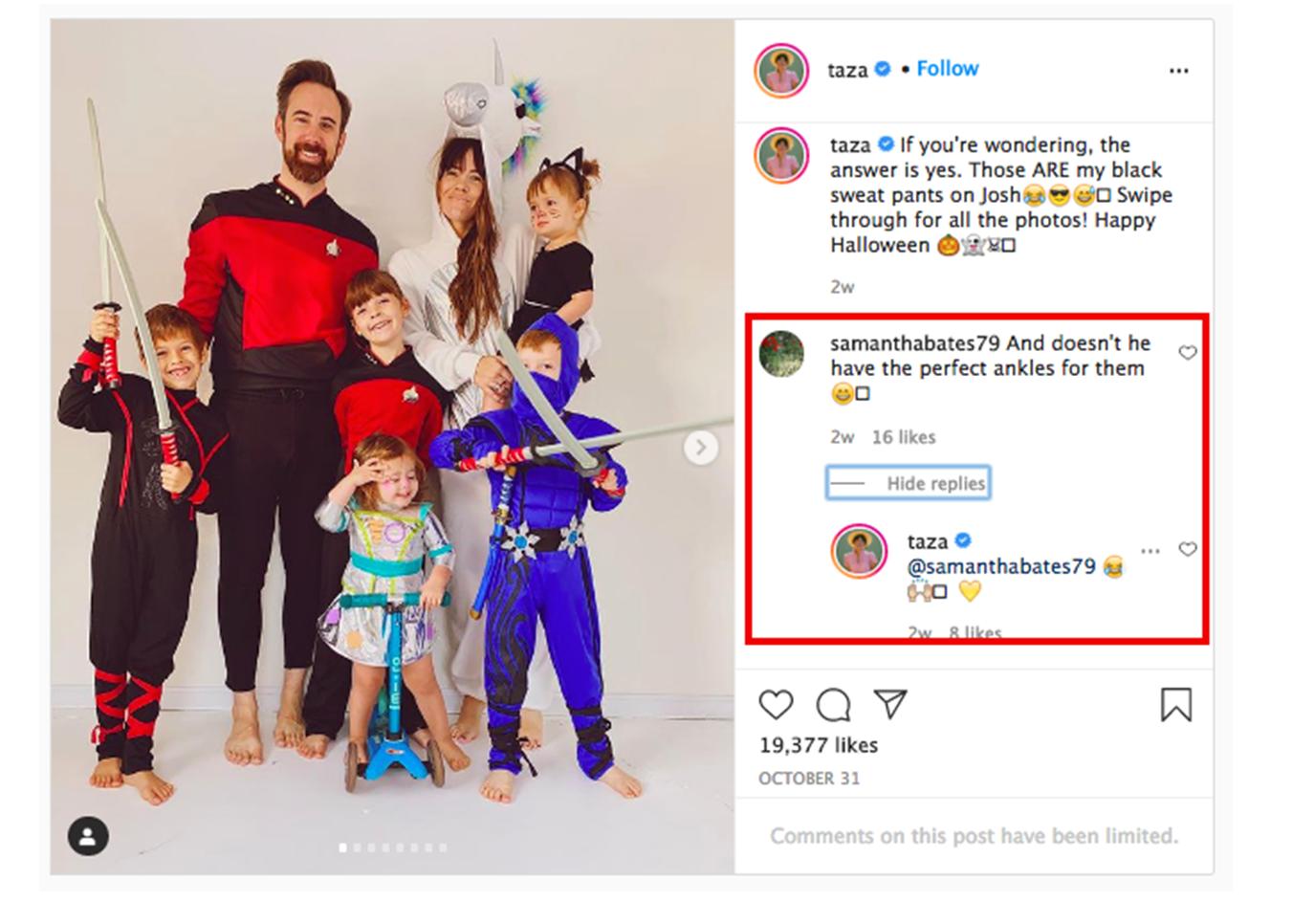 bloggers on instagram