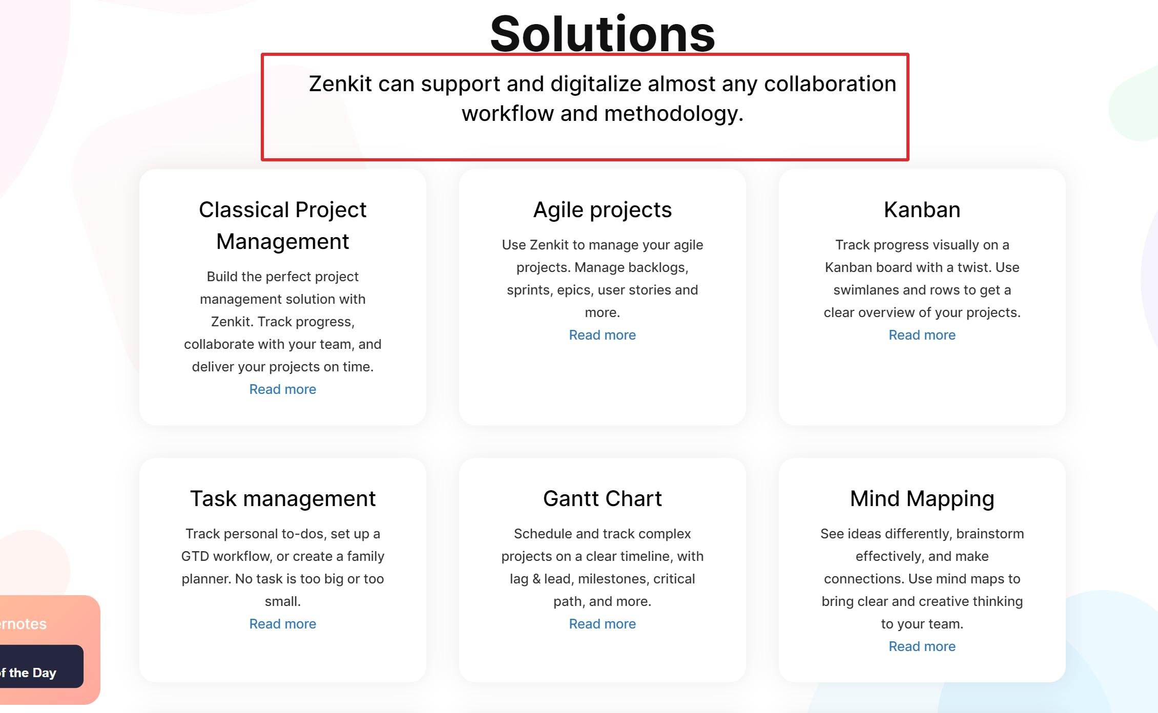 zenkit solutions