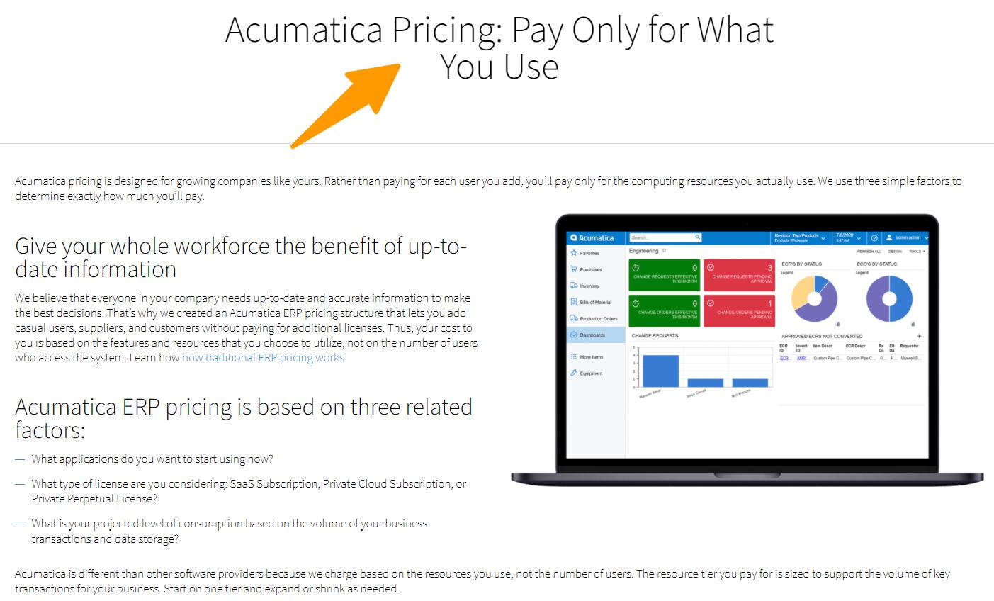 Acumatica-Pricing-