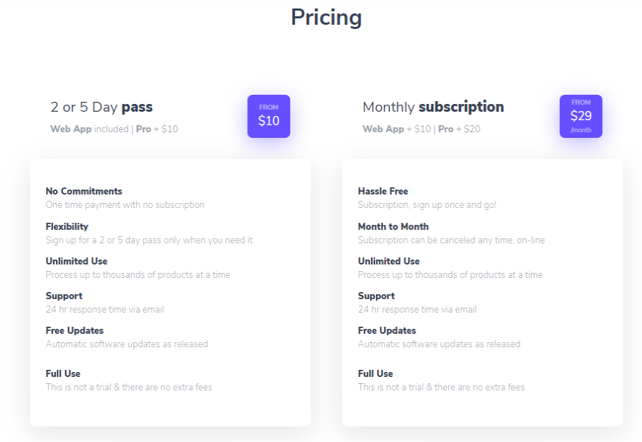 Analyzer.Tools - Pricing
