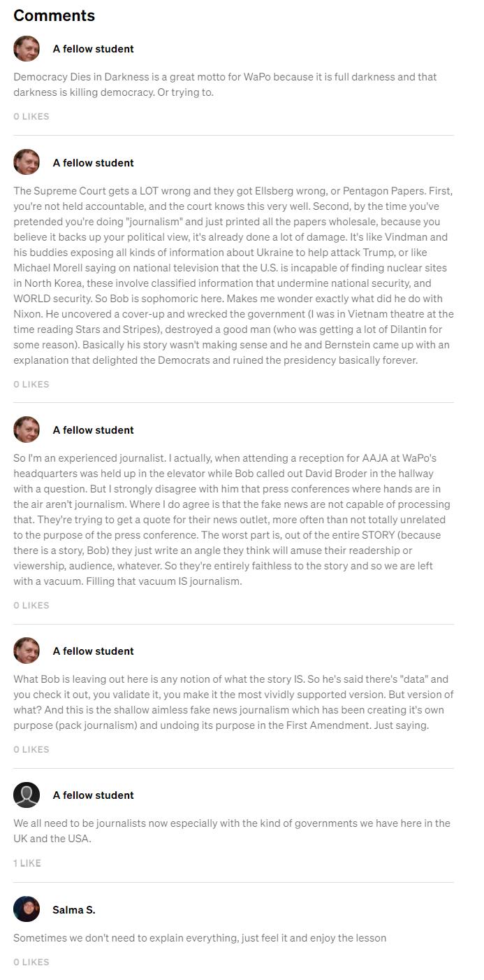 Bob-Woodward- Testimonials