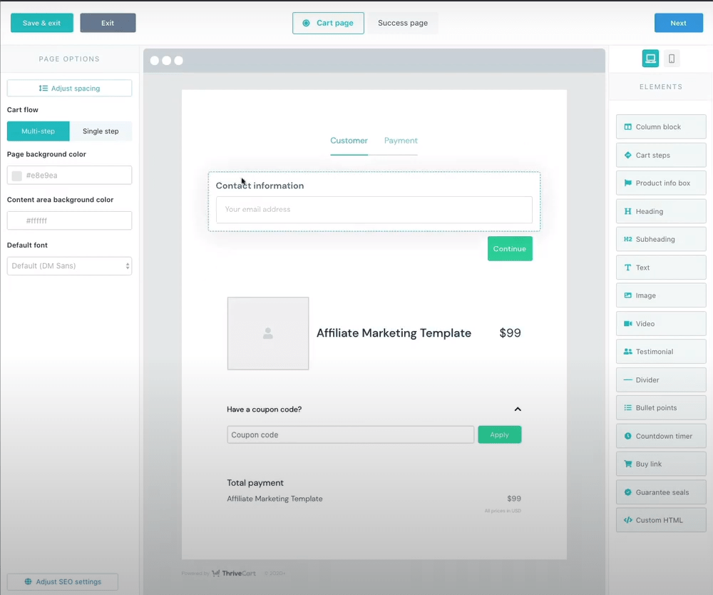 Build A Sales Page