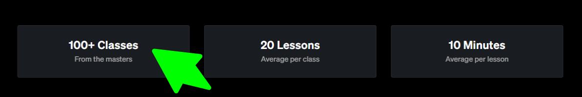 MasterClass-Class Content