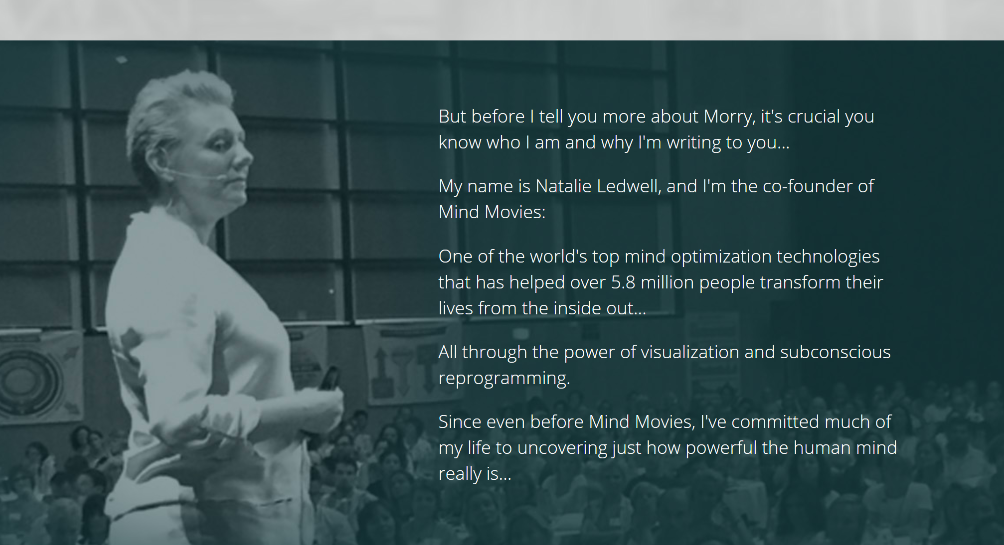 Mind Movies Founder CEO