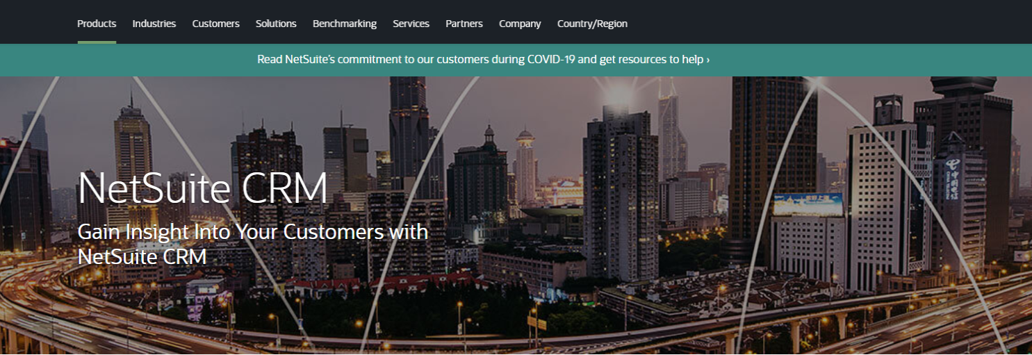 NetSuite - CRM