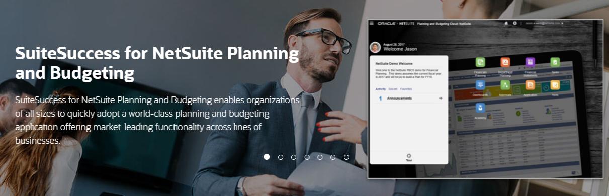 NetSuite - Planning