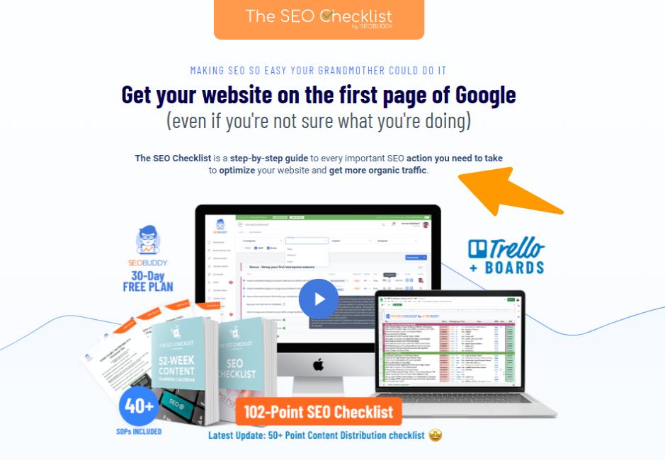 SEO-Checklist - Overview