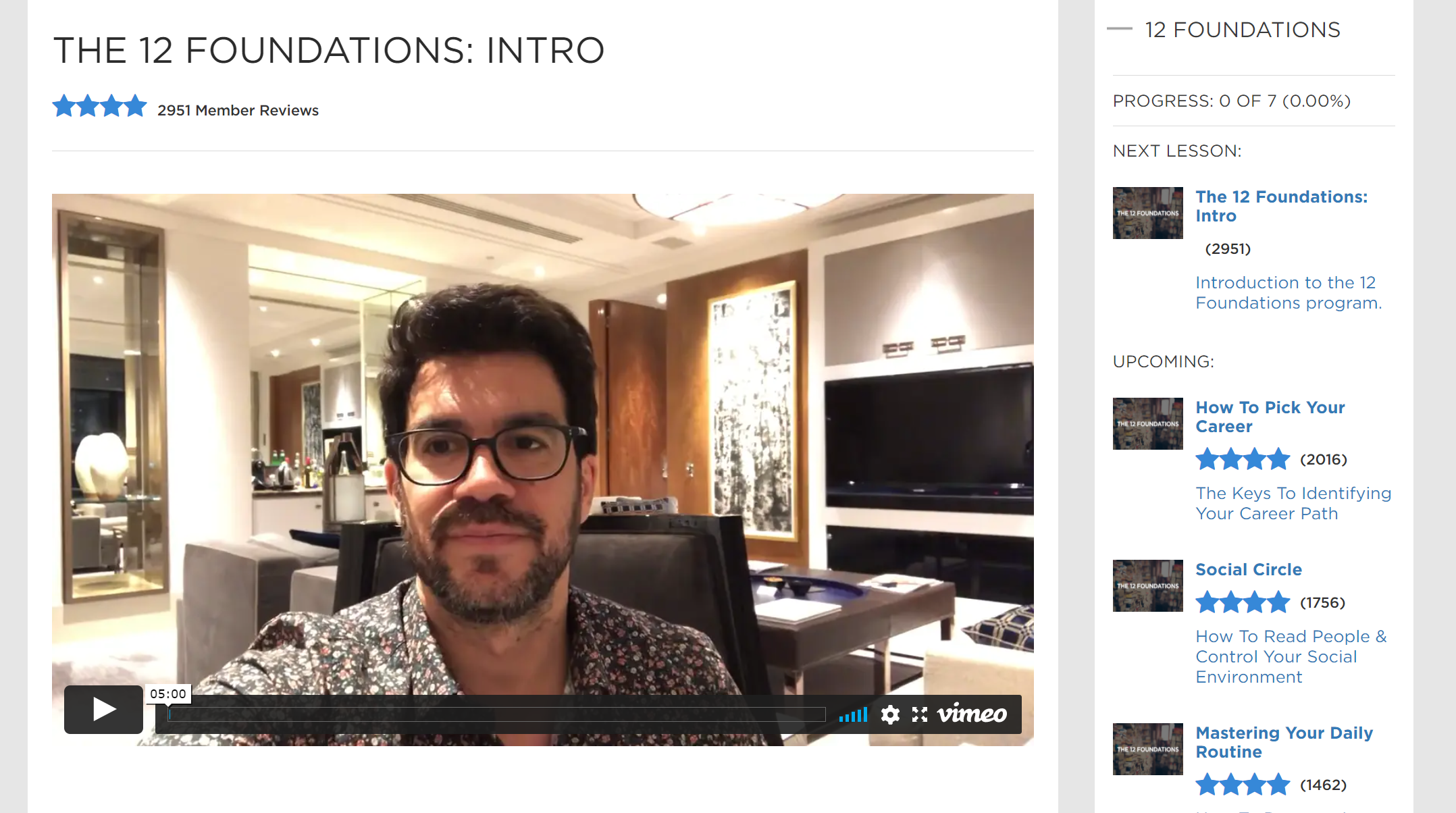 Tai lopez 12 foundations review