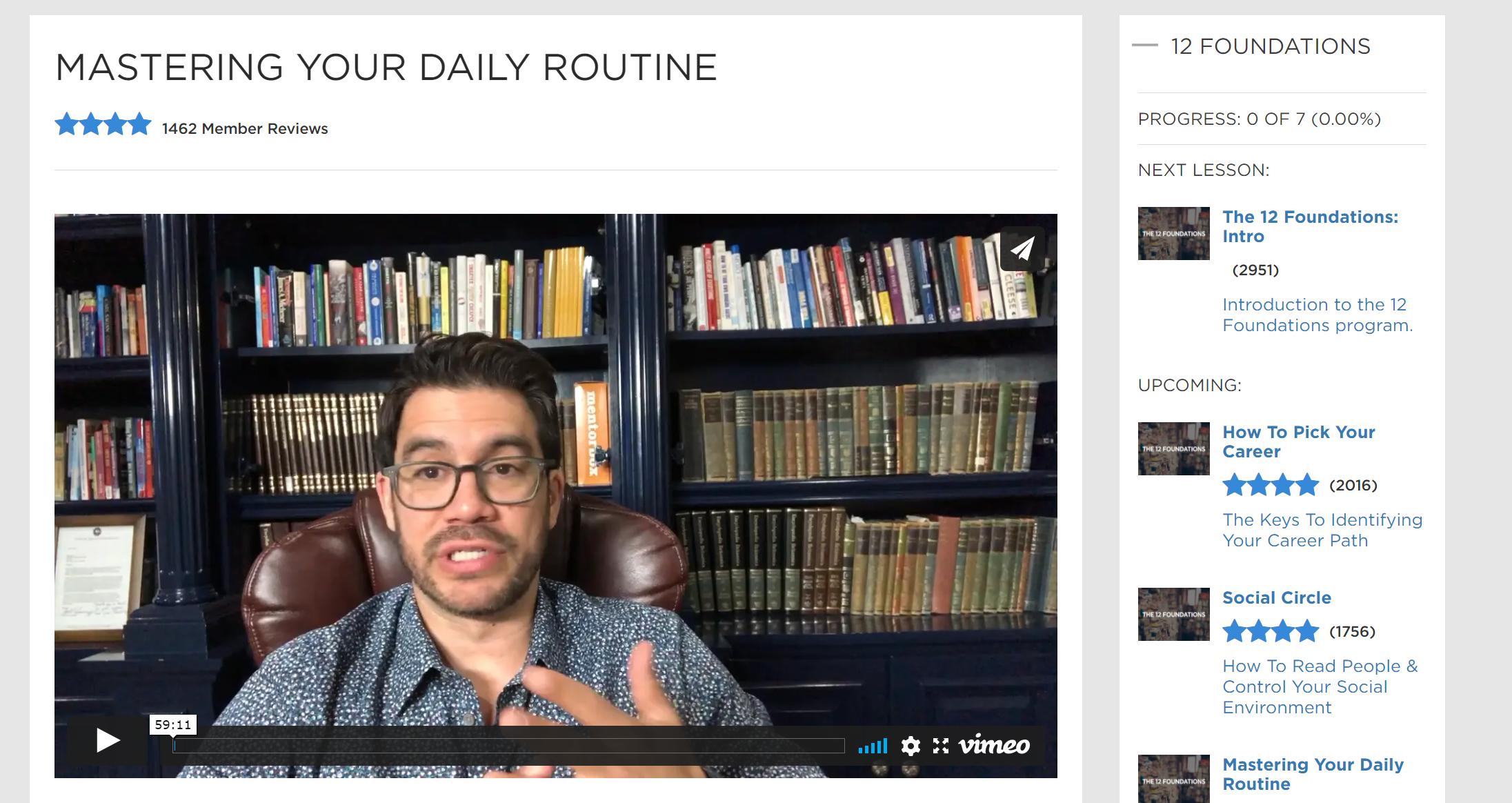 Tai lopez 12 foundations reviews daily routine