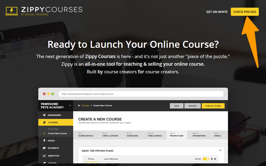 Zippy-Courses - Overview