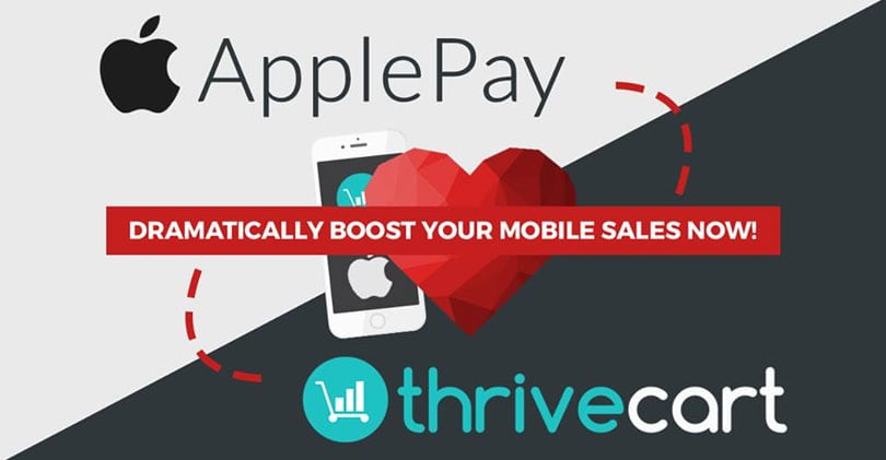 thrivecart applepay