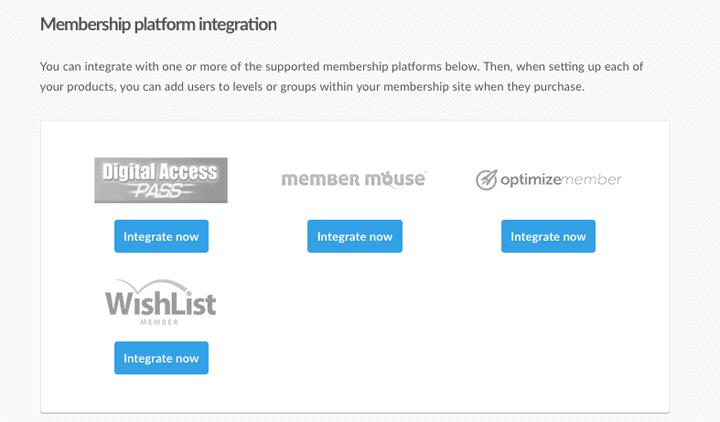 thrivecart membership platform