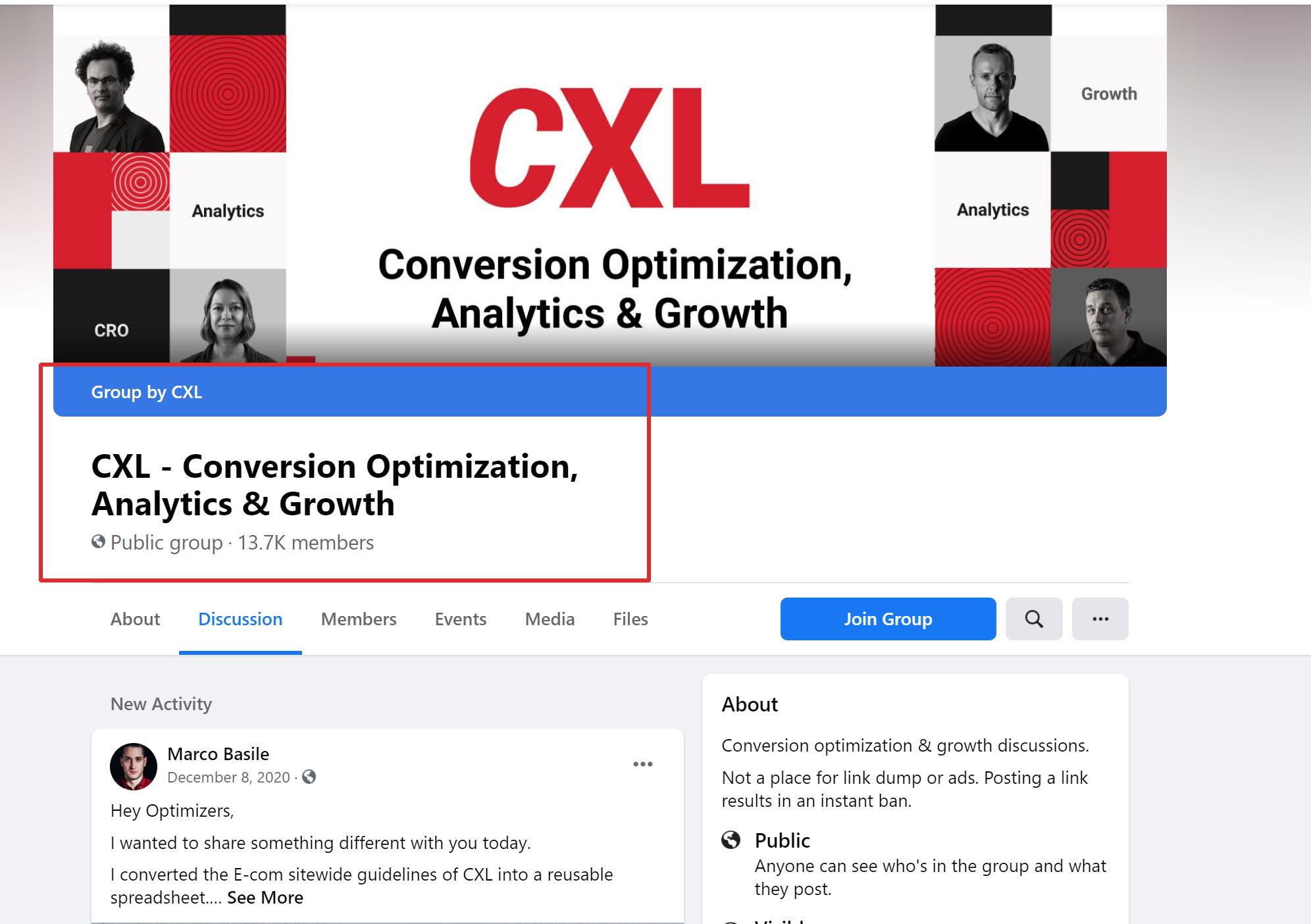 CXL - Conversion Optimization, Analytics & Growth