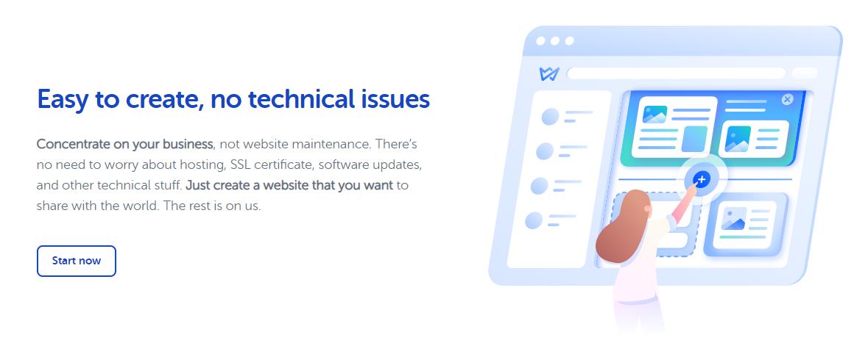 Weblium - No Technical Issue