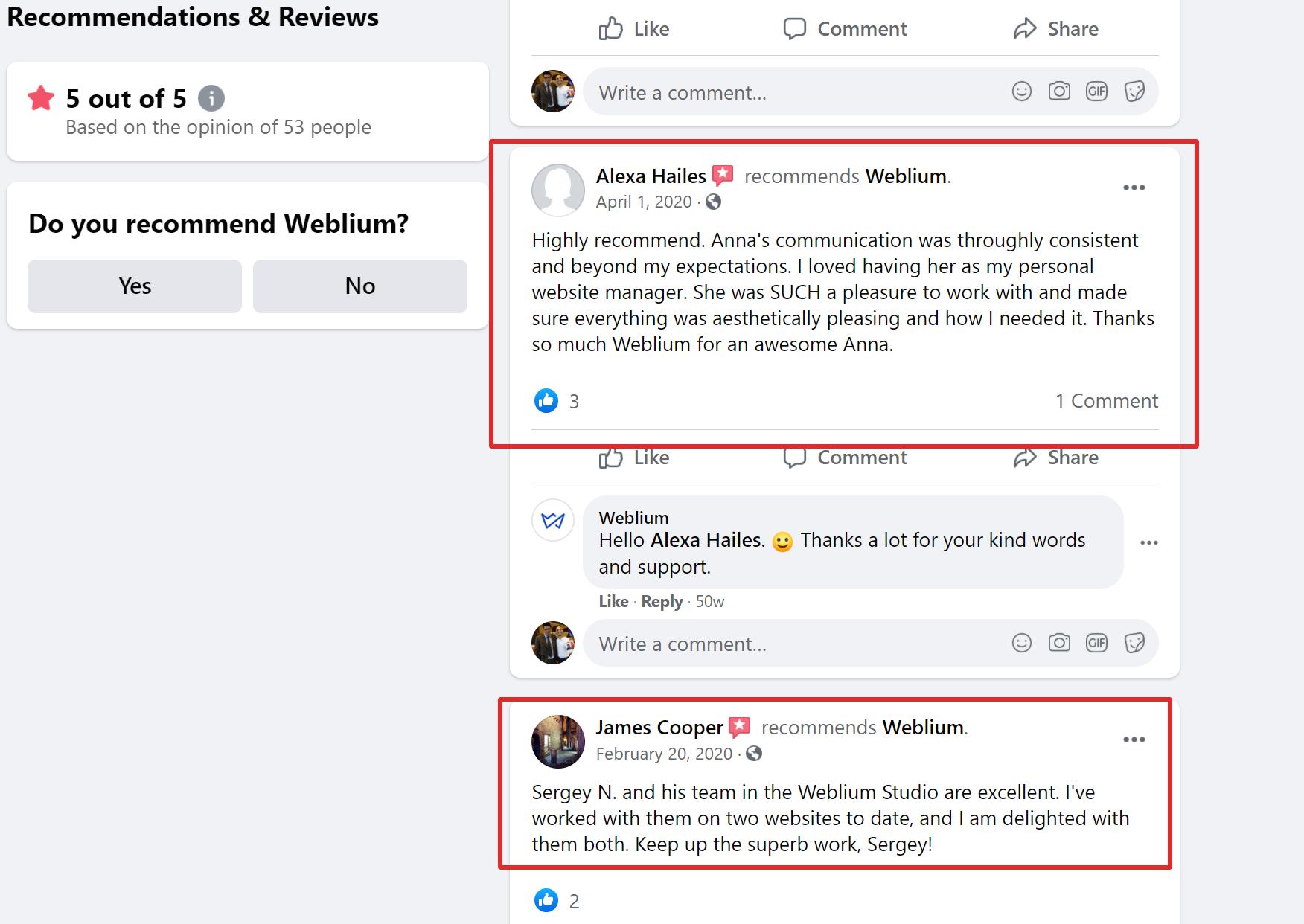 Weblium pricing review